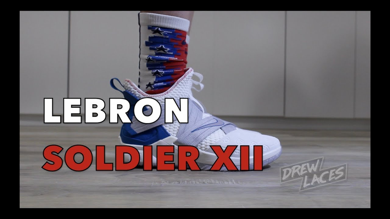 100% authentic 27d73 b20b4 Nike Lebron Soldier 12 on Feet