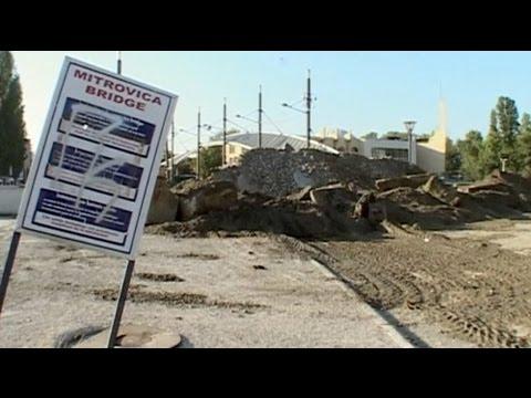 Las barricadas vuelven al puente de Mitrovica