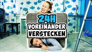 24 STUNDEN VOREINANDER VERSTECKEN? Kaan erwischt Kathi bei Verstecken Challenge!