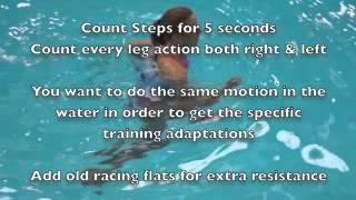 pool running technique and aqua jogging workouts