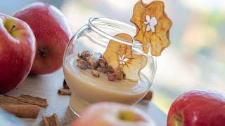 ЯБЛОЧНЫЙ КРЕМ МУСС 🍎 самое вкусное яблочное пюре 🍏 простой десерт из яблок | легкий рецепт