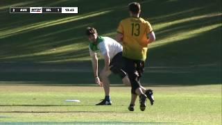 WFDF World Under 24 Ultimate Championship: Australia vs Ireland  - Men's