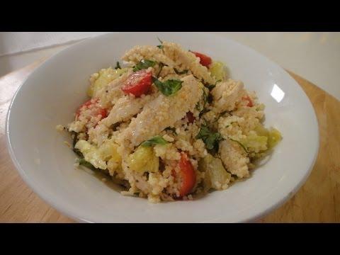 Chicken and Couscous Salad | Sanjeev Kapoor Khazana