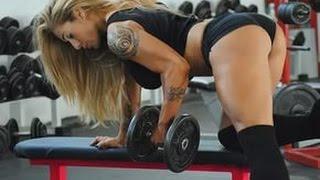 Красивые Фитоняшки спортсменки в зале. Fitness Motivation