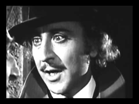 Young Frankenstein Train Station scene by Rick Masi