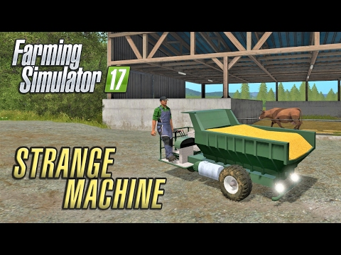 Farming Simulator 2017 | A STRANGE MACHINE | Wexcombe Manor Farm | Episode 23