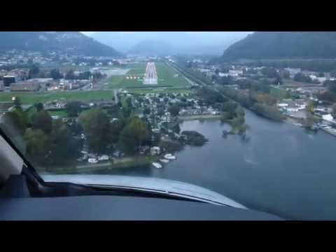 HowTo: LOC01 Approach Lugano (LSZA) with visual final - CJ4|Tutorial