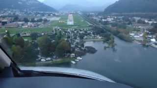 howto loc01 approach lugano lsza with visual final cj4 tutorial