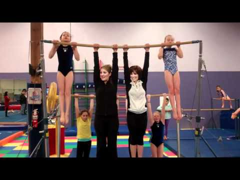 Outtakes of Shannon Miller promoting 2012 Pacific Rim Gymnastics Competition