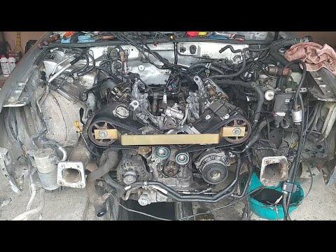 Метки Грм Audi A6 C5 2,4 / 2,8 V6/ Заміна ремня грм// Викладаєм ВМТ Коленвала и распредвалов Ауді !