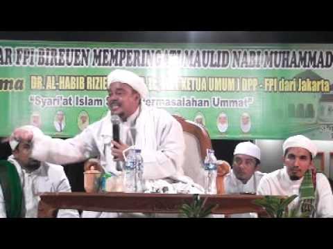 Dakwah Hib Rizieq FPI Bireuen Aceh Daussalam vol 1