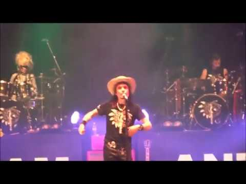 Adam Ant live at Roundhouse on 21 Dec 2017 - The Singles Tour - Anthems