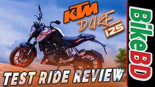 KTM Duke 125 Review   Team BikeBD Review   বাংলা রিভিউ  