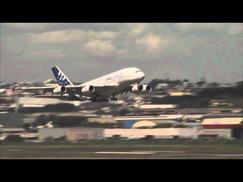 A380 flight operations on its 2012 Latin American tour