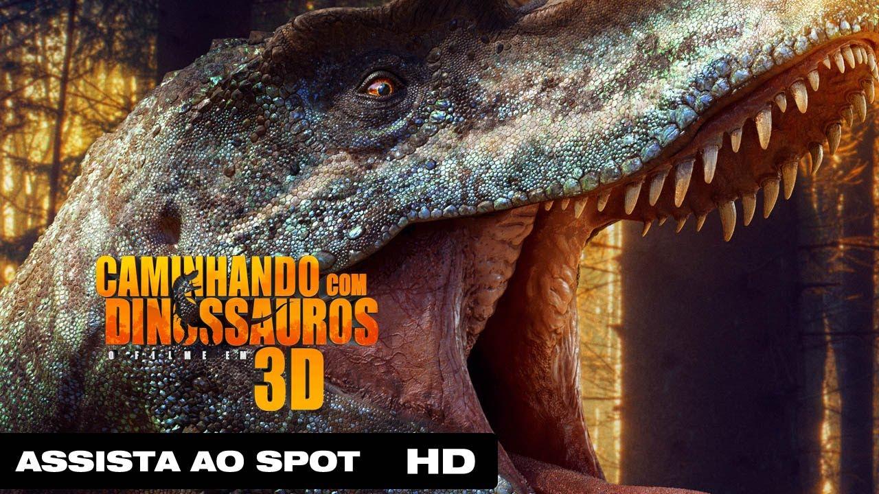Caminhando Com Dinossauros 3d Tv Spot 2014 Youtube