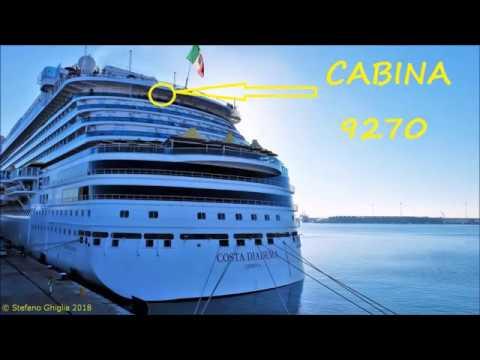 Costa diadema cabina con balcone di poppa 9270 costa for Costa deliziosa ponti