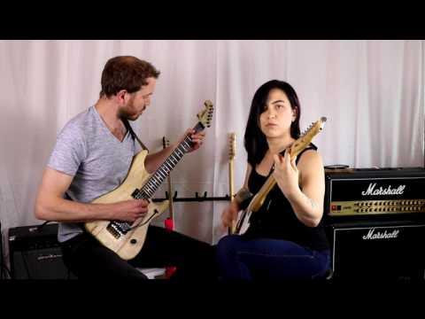 Layla (HD) - Guitar Cover by Jason Wilford & Katie Tsuji