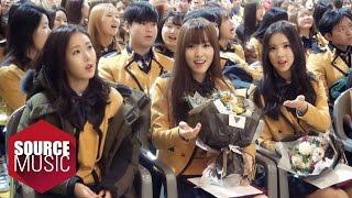 여자친구 GFRIEND TODAY - #20160204 은하 유주 졸업식