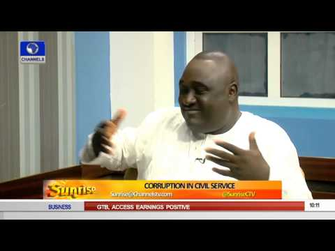 Sunrise:  Discussing Corruption In Civil Service PT 5
