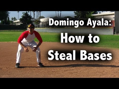 How to Steal Bases with Domingo Ayala