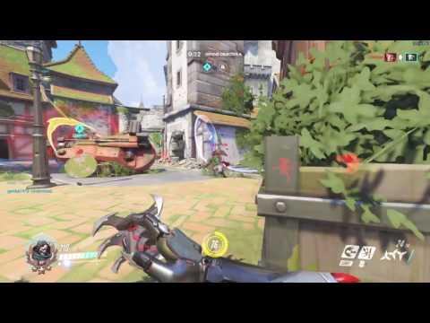 Mercy Help's Genji Save The Round