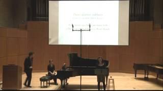 Dinu Lipatti - Cinq Chansons de Verlaine, op. 9