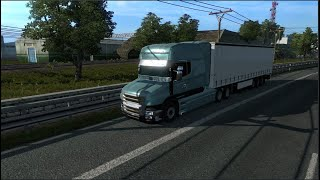 Please Subscribe For More Videos   Details & Download From http://www.modhub.us/euro-truck-simulator-2-mods/scania-t-t4-brazilian-edit-1-37-and-1-38/        One file. Correction of raindrops. Horn correction. Kriechbaum sound mod. Credits: Rafael Alves
