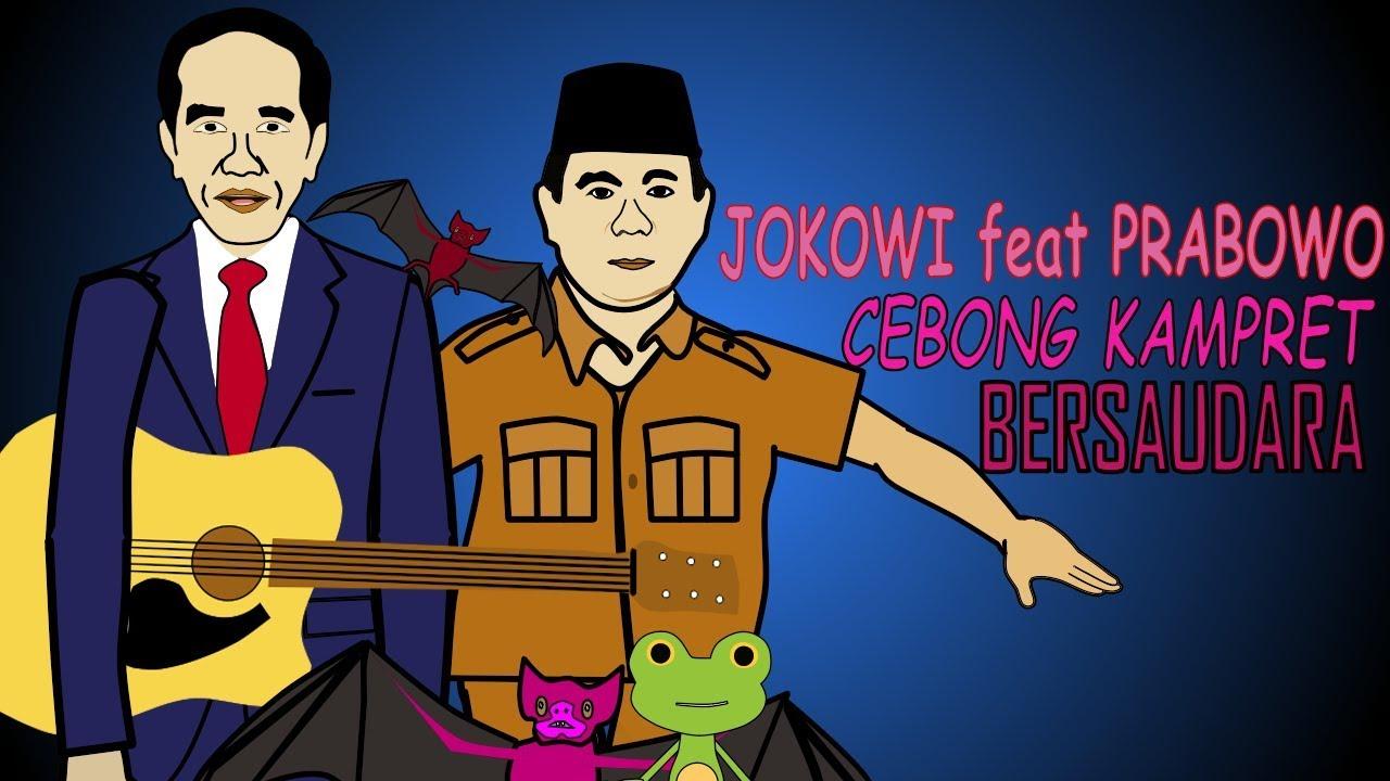 Kartun Jokowi Feat Prabowo Cebong Kampret Bersaudara Youtube