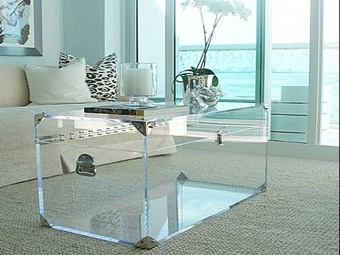 Ordinaire Acrylic Cocktail Tables
