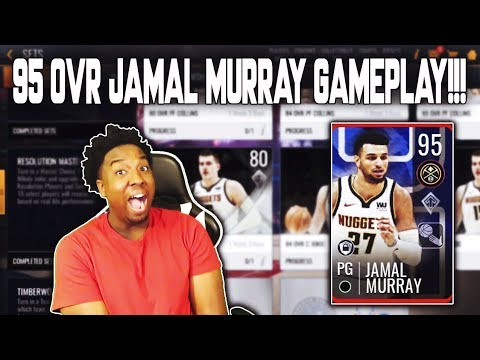 cf76f34c831b4a COMPLETING THE 95 OVR RESOLUTIONS MASTER JAMAL MURRAY IN NBA LIVE MOBILE  19!!!