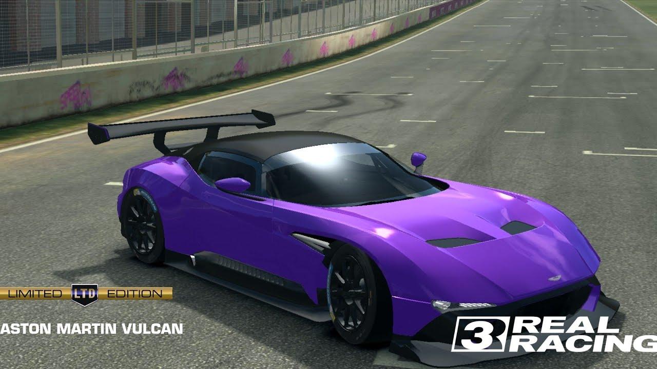 Aston Martin Vulcan Real Racing 3 Youtube