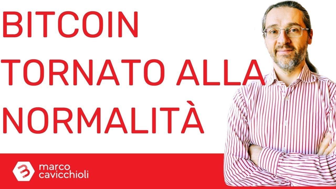 bitcoin è tornato