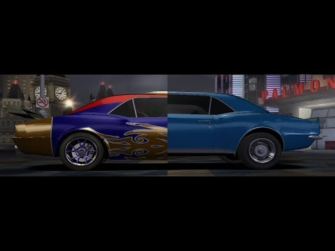 Need for Speed Carbon - Stock and Upgraded Sound Comparison: Muscles