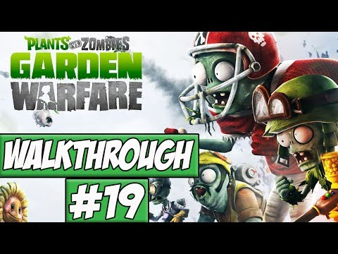 Plants Vs Zombies: Garden Warfare Walkthrough Ep.19 w/Angel - Damn You!