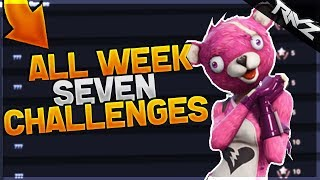 ALL WEEK 7 CHALLENGES LEAKED! - Fortnite: Battle Royale All Season 3 Battle Pass Week 7 Challenges!
