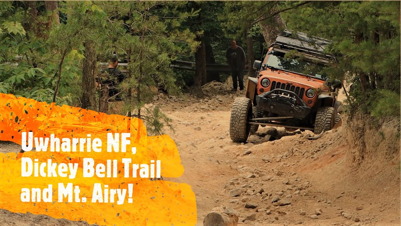 North Carolina adventure Part 2 the Dickey Bell in Uwharrie NF & Mt Airy