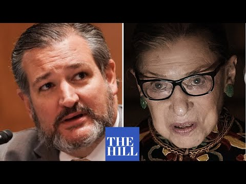 Sen. Ted Cruz BLOCKS Schumer's amendment honoring Ruth Bader Ginsburg over language on