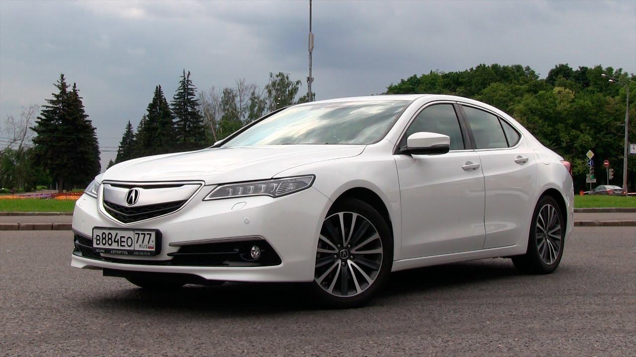 Acura TLX - Тест-драйв версии с 2.4L i-VTEC (208hp) via ATDrive