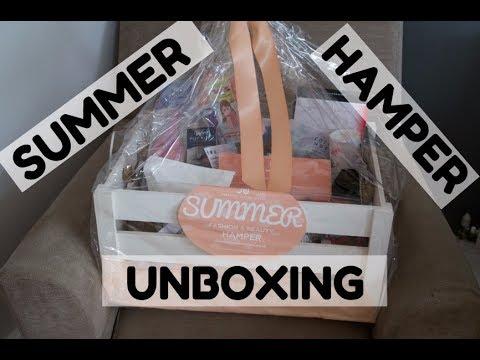 SUMMER HAMPER UNBOXING | #SNS HUMPER