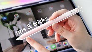 13 *super useful* iṖad & Apple Pencil tips and tricks!