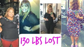 Inspirational Weight Loss Transformation | 130lbs Lost Q&A
