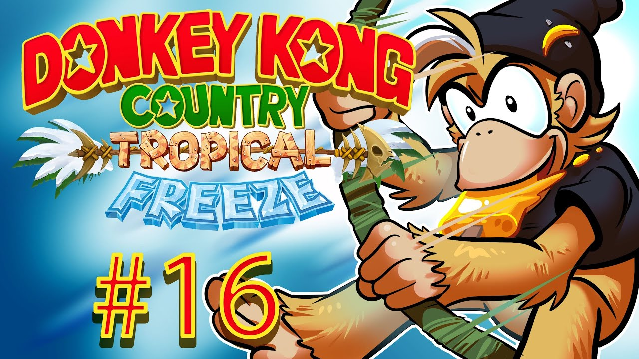 Donkey Kong Country Tropical Freeze Gameplay Walkthrough W