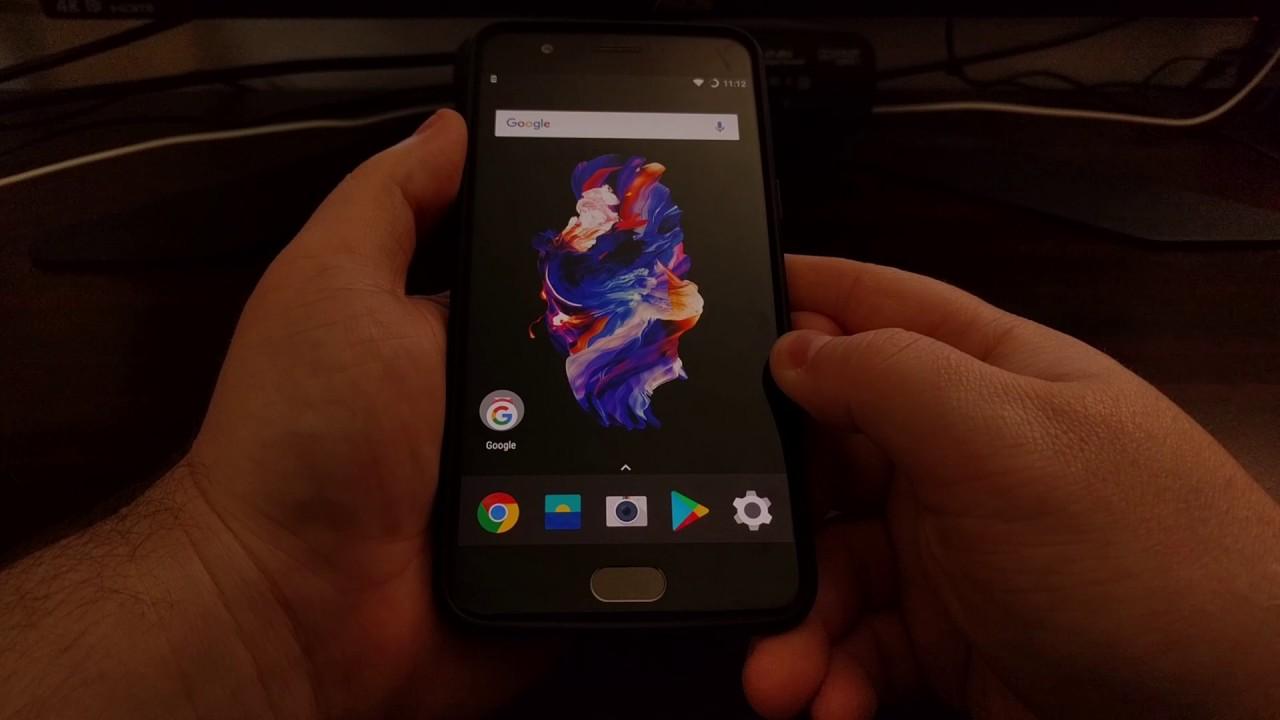 OnePlus 5 | Enable OTG Storage