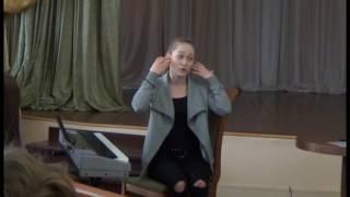 """Мастер-класс """"Эстрадный вокал"""""""