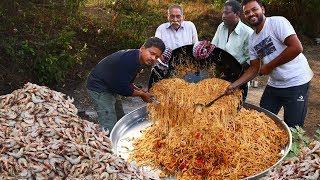 Spicy Shrimp Noodles Recipe | King Prawns Noodles Recipe | American Prawns Noodles | Grandpa Kitchen
