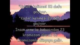 KUR'AN MUCİZELERİ Hala Rabbinizi Yalanlamaya Utanmıyormusunuz!!