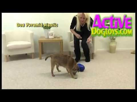 Nina Ottosson Dog Pyramid Dog Treat Game