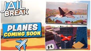 Roblox Jailbreak Update info!  NEW STUNT PLANE + FIGHTER JET (PLANE UPDATE)