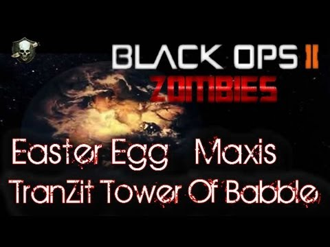 TranZit | Passo a Passo Easter Egg (Maxis) - Tower Of Babble Thophy Guide