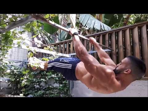 The spartan- front lever tutorial (English subtitles) thumbnail